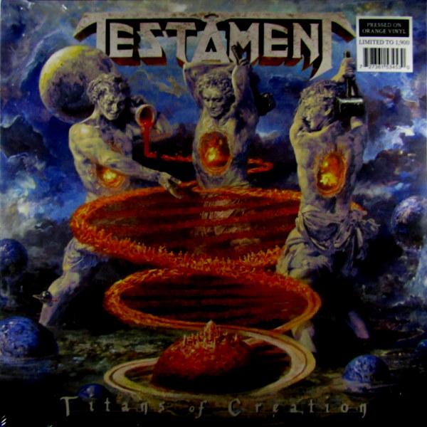 testament titans of creation lp front