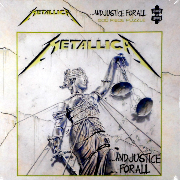 metallica and justice jigsaw front