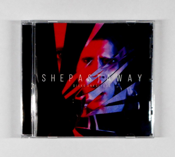 she past away disko cd front
